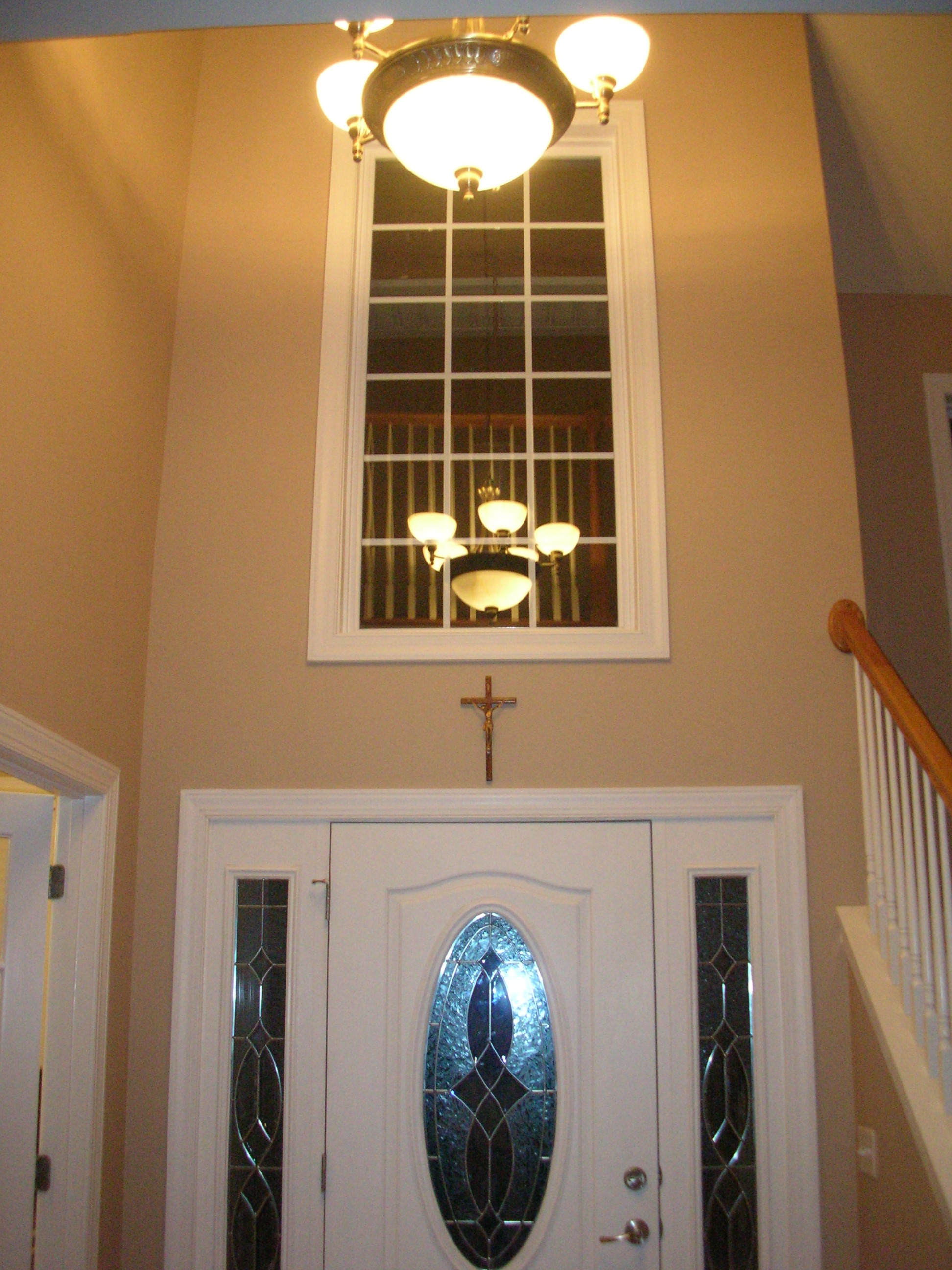 My home redux two story foyer window what to do about window treatments arubaitofo Images