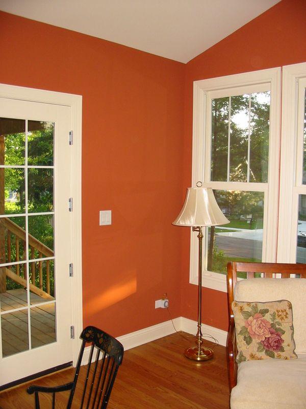 My Home Redux Great New Color Benjamin Moore Audubon Russet