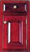 Beaded inset cabinet door
