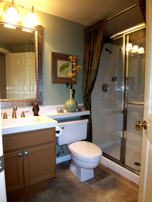 My Home Redux Simple Bathroom Makeover