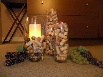 Cork bottles