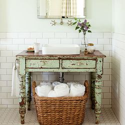 Bathroom Vanities From Dressers Or Tables