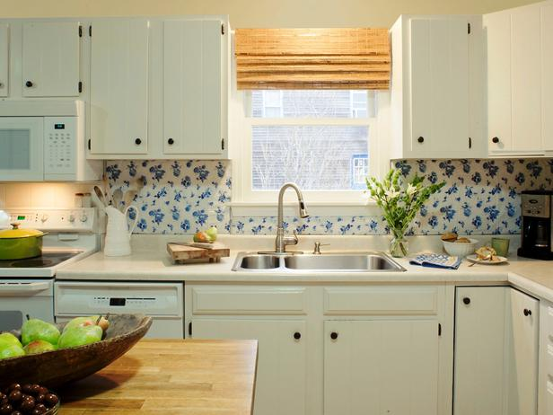 Tablecloth backsplash susan teare