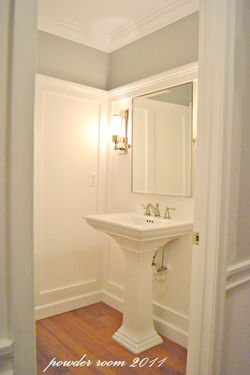 My Home Redux Powder Room Makeover