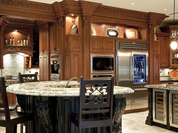 Top end kitchen